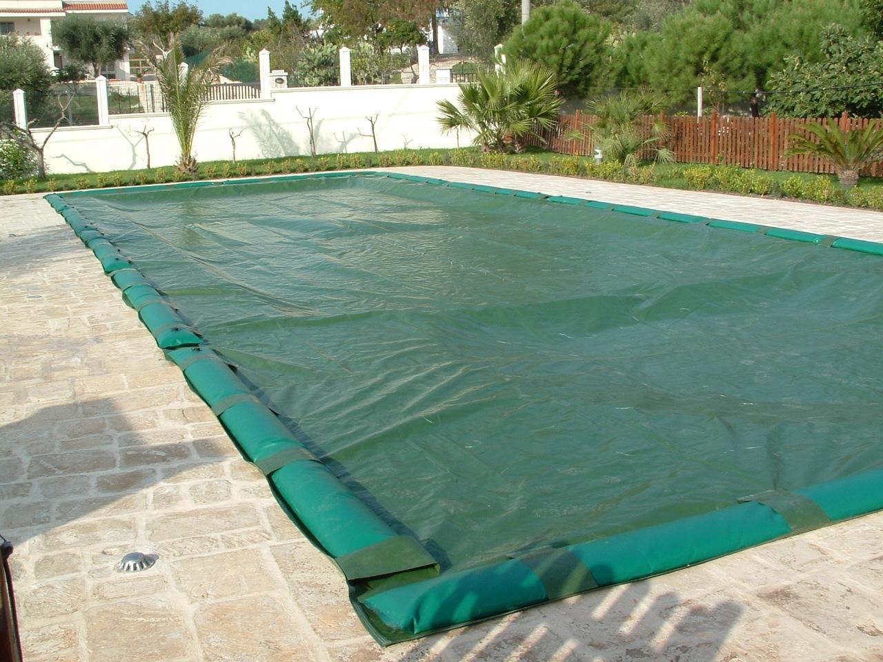 Copertura per piscina interrata