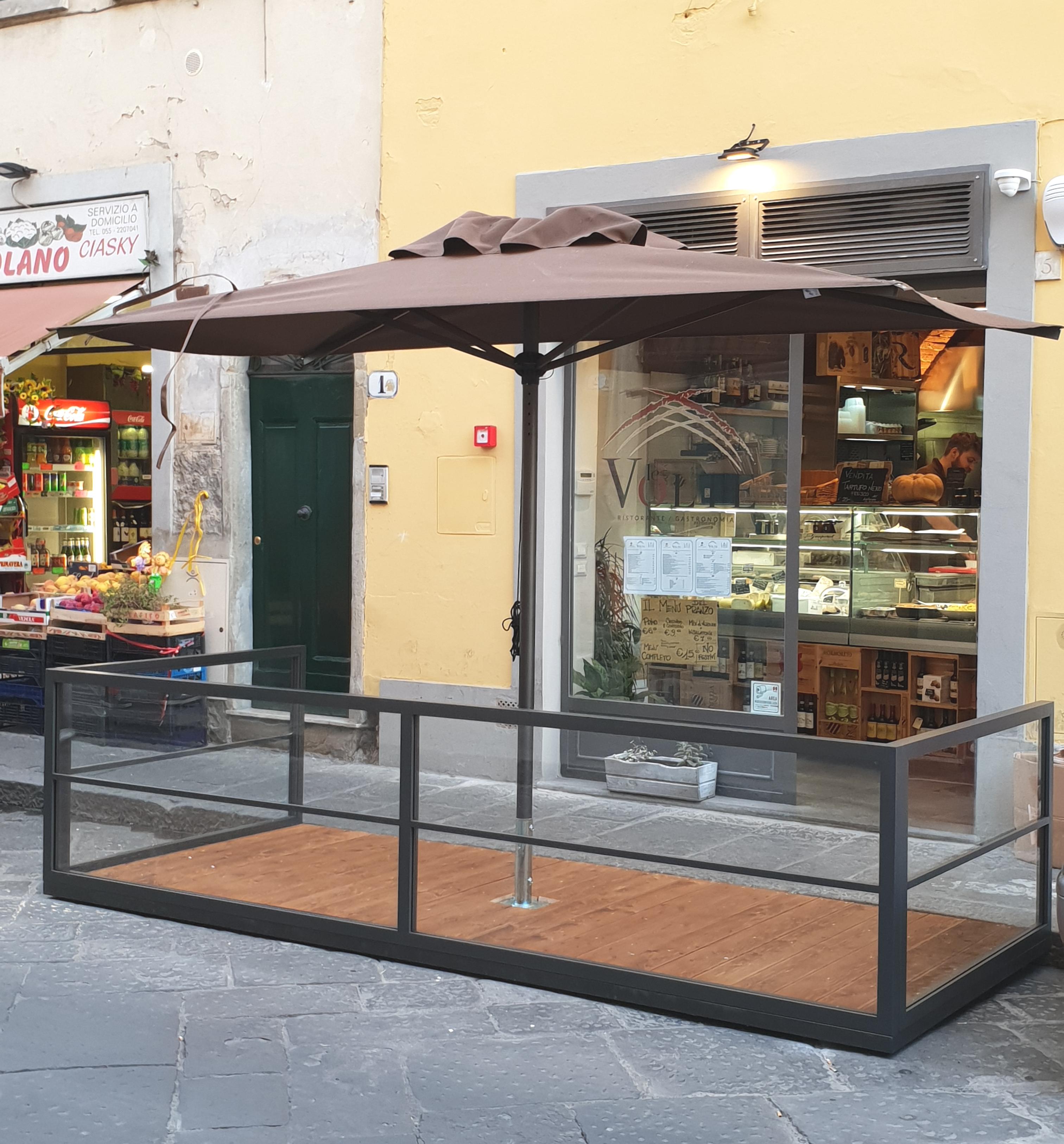 Ombrelloni Per Esterno Bar.Ombrelloni Da Esterno E Da Giardino Firenze Cover Df